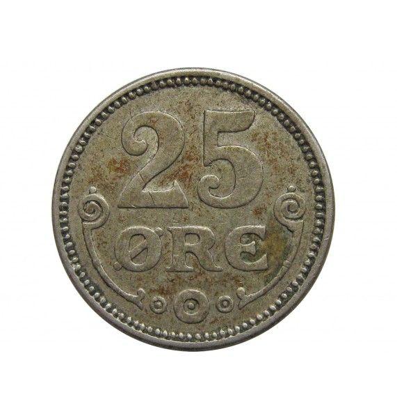 Дания 25 эре 1915 г.