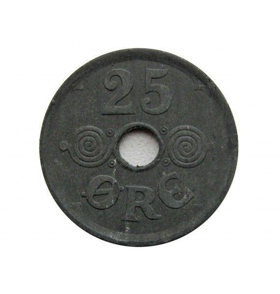 Дания 25 эре 1945 г.