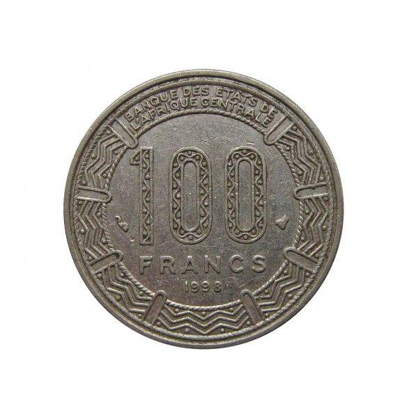 Центрально-Африканские штаты 100 франков 1998 г.