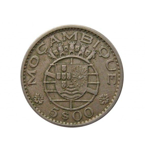 Мозамбик 5 эскудо 1971 г.