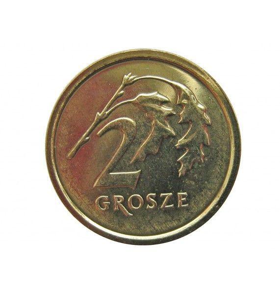 Польша 2 гроша 2014 г.