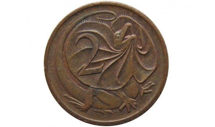 Австралия 2 цента 1984 г.