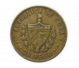 Куба 1 песо 1987 г.