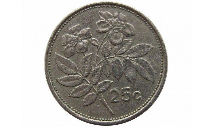 Мальта 25 центов 1993 г.