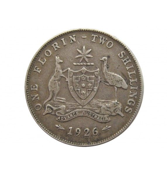 Австралия 1 флорин 1926 г.