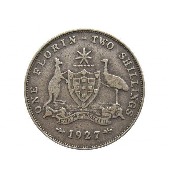 Австралия 1 флорин 1927 г.