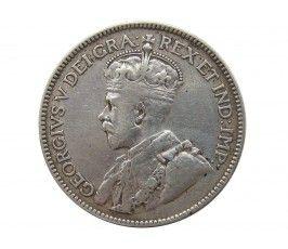 Канада 25 центов 1934 г.