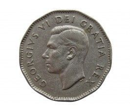 Канада 5 центов 1948 г.