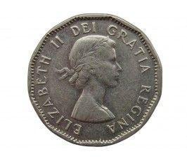 Канада 5 центов 1955 г.