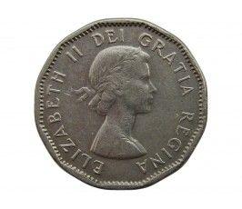 Канада 5 центов 1956 г.