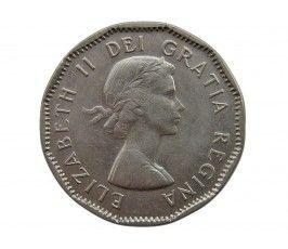 Канада 5 центов 1957 г.