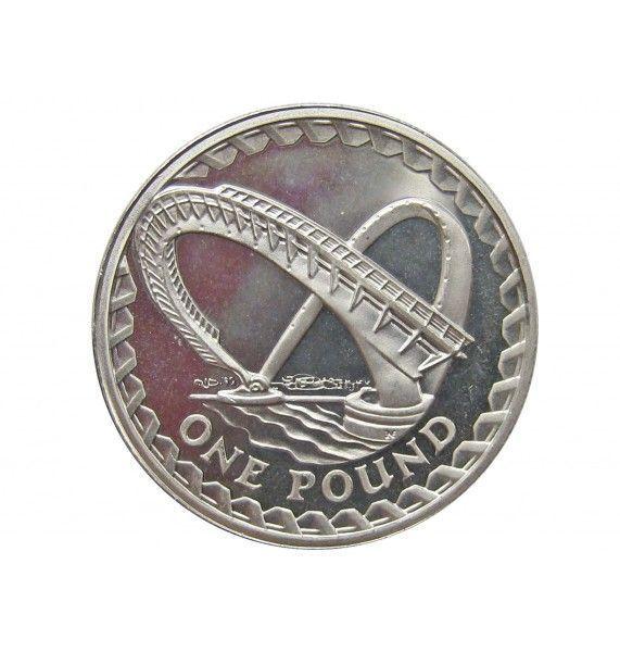 Великобритания 1 фунт 2007 г. (Часовня Иоанна)
