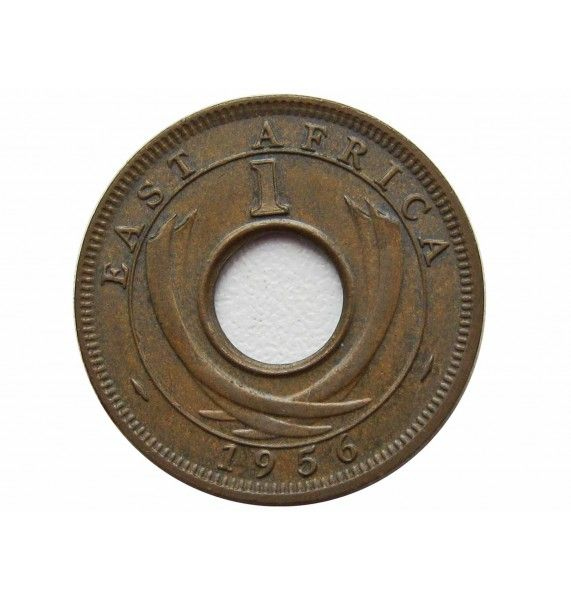 Британская Восточная Африка 1 цент 1956 г. KN
