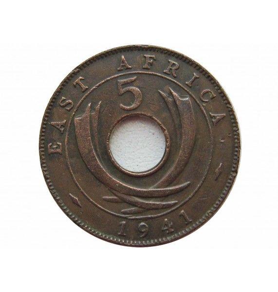 Британская Восточная Африка 5 центов 1941 г.