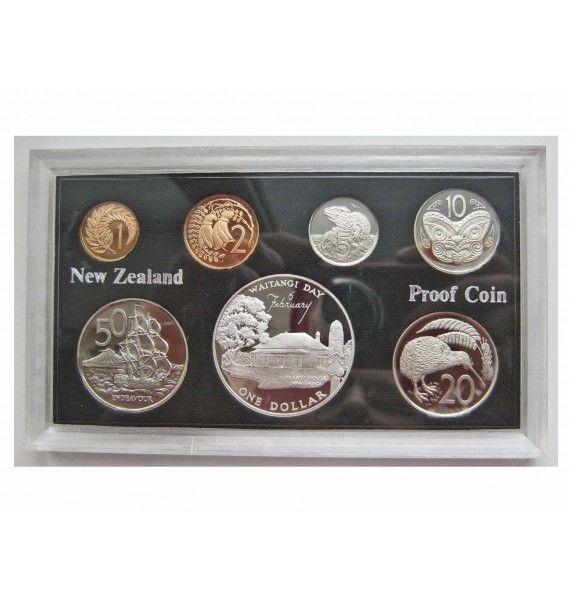Новая Зеландия годовой набор (proof) 1977 г.