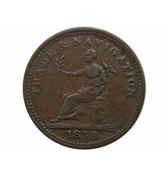 Канада (Nova Scotia) 1 пенни 1838 г.