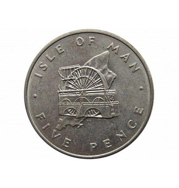 Остров Мэн 5 пенсов 1978 г.