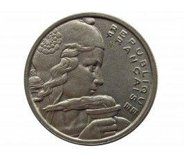 Франция 100 франков 1955 г. B