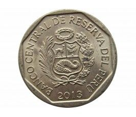 Перу 1 новый соль 2013 г. (Лебеда)