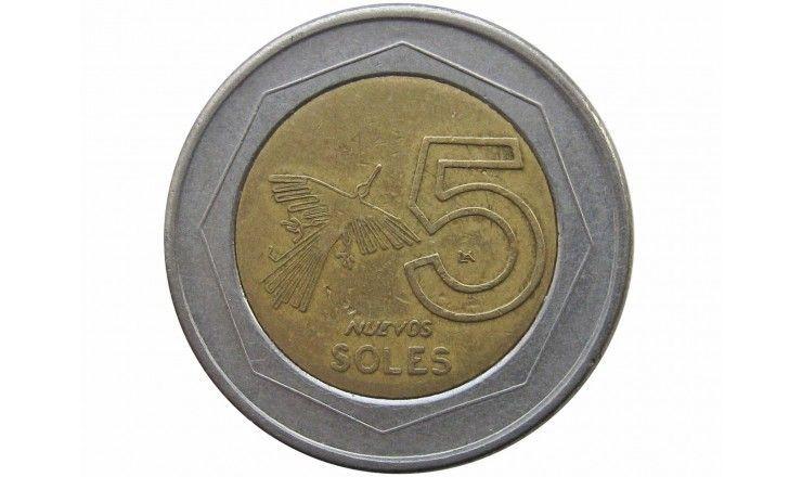 Перу 5 новых солей 2005 г.