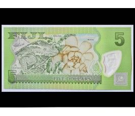 Фиджи 5 долларов 2012 г.