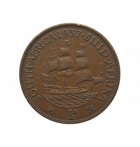 Южная Африка 1 пенни 1937 г.