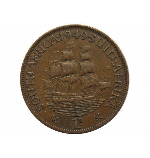 Южная Африка 1 пенни 1949 г.