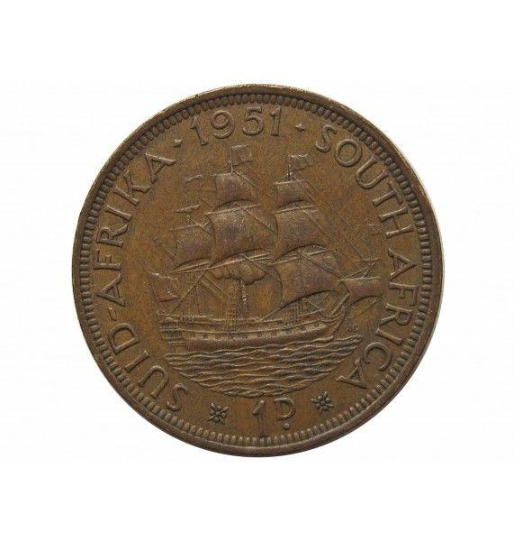 Южная Африка 1 пенни 1951 г.