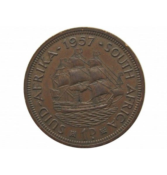 Южная Африка 1 пенни 1957 г.