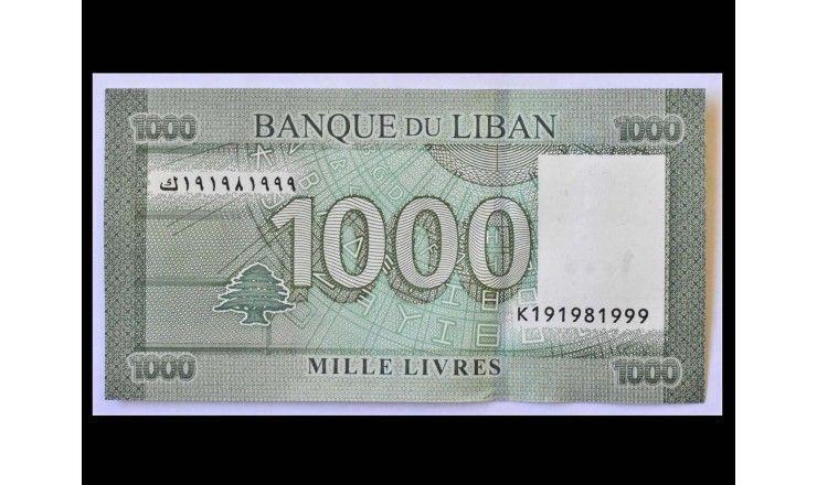 Ливан 1000 фунтов 2016 г.