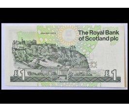 Шотландия 1 фунт 2001 г.