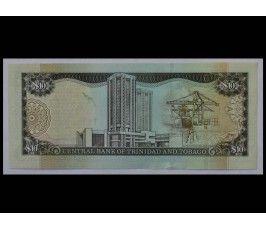 Тринидад и Тобаго 10 доллар 2002 г.