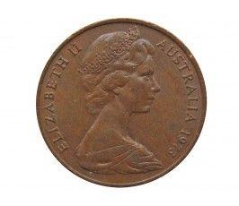 Австралия 2 цента 1973 г.