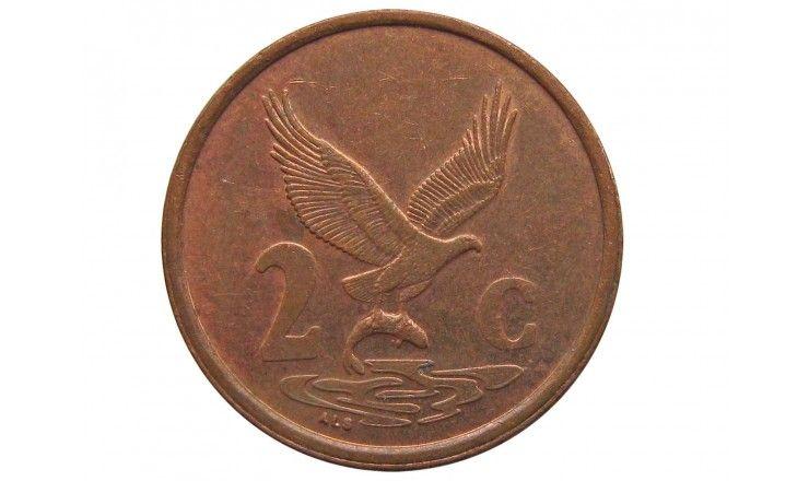 Южная Африка 2 цента 1999 г.