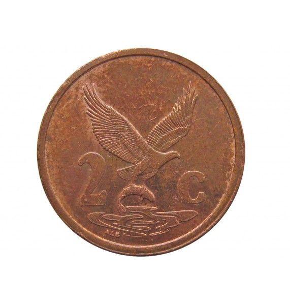 Южная Африка 2 цента 2000 г.