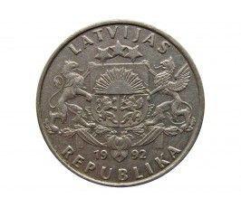 Латвия 1 лат 1992 г.