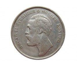 Швеция 2 кроны 1878 г.