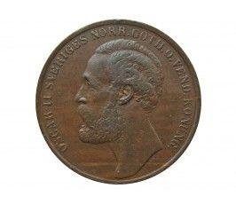 Швеция 5 эре 1873 г.
