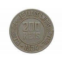 Бразилия 200 рейс 1934 г.