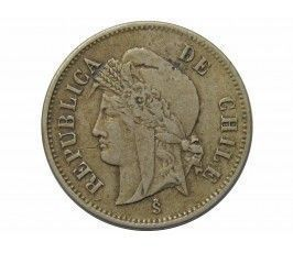 Чили 1 сентаво 1871 г.