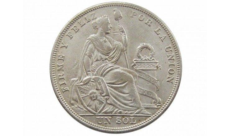 Перу 1 соль 1924 г.
