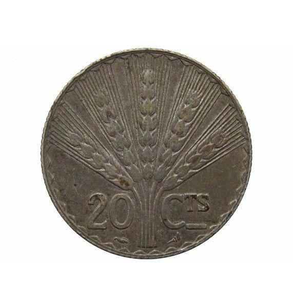 Уругвай 20 сентесимо 1930 г. (100-летие конституции)