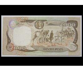 Колумбия 2000 песо 1993 г.