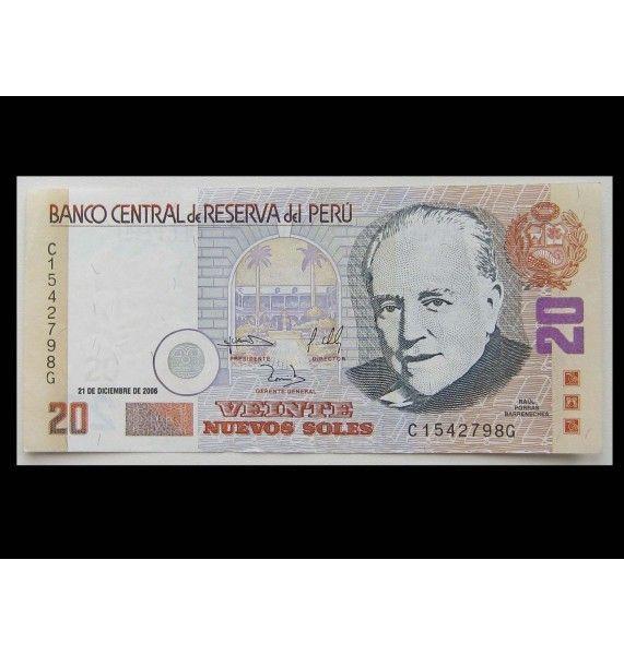 Перу 20 новых солей 2006 г.