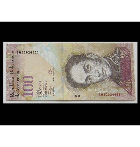 Венесуэла 100 боливаров 2013 г.