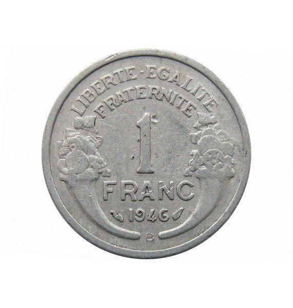 Франция 1 франк 1946 г. B