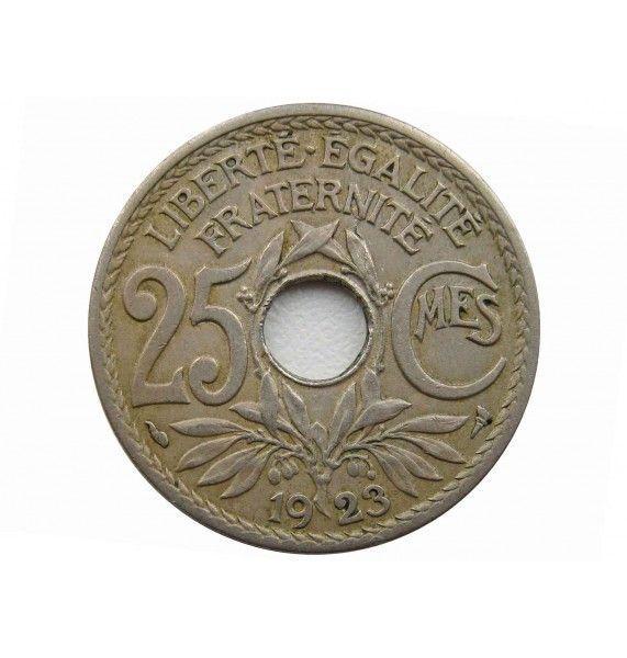 Франция 25 сантимов 1923 г.