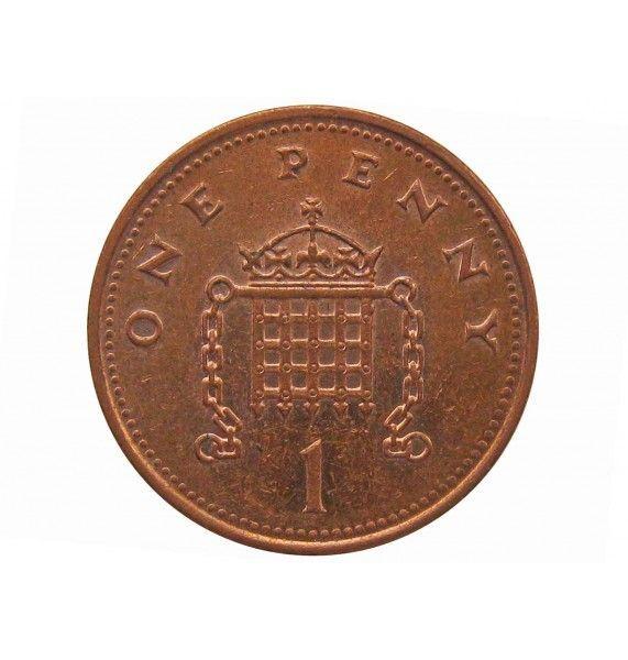 Великобритания 1 пенни 2001 г.