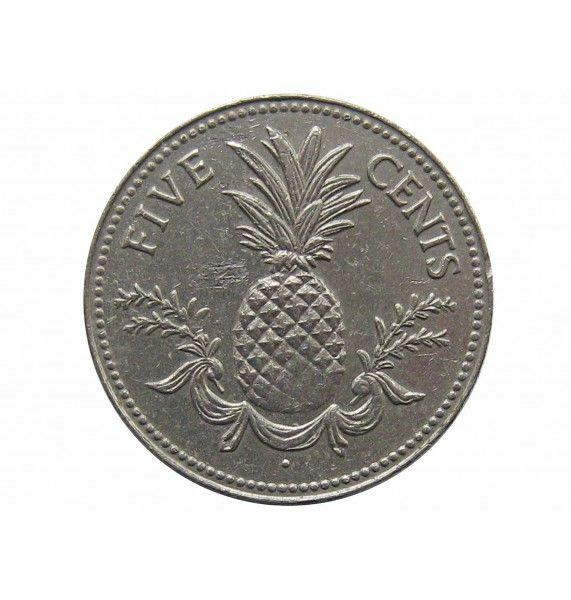 Багамы 5 центов 1984 г.