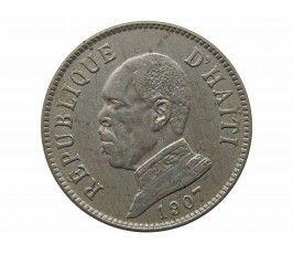 Гаити 20 сантимов 1907 г.